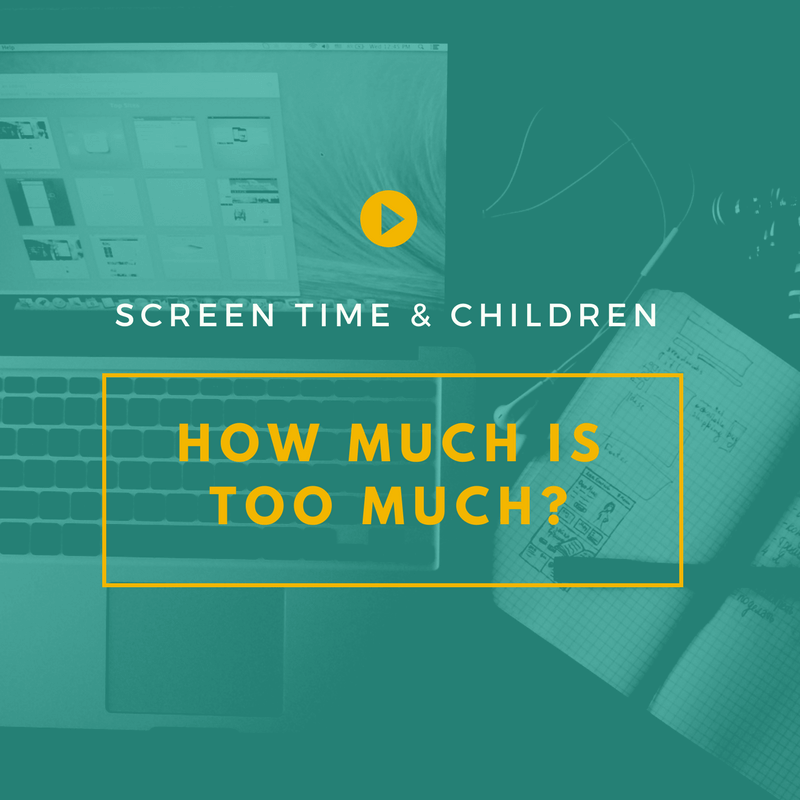 screen time and children - how much is too much? | Dr ...